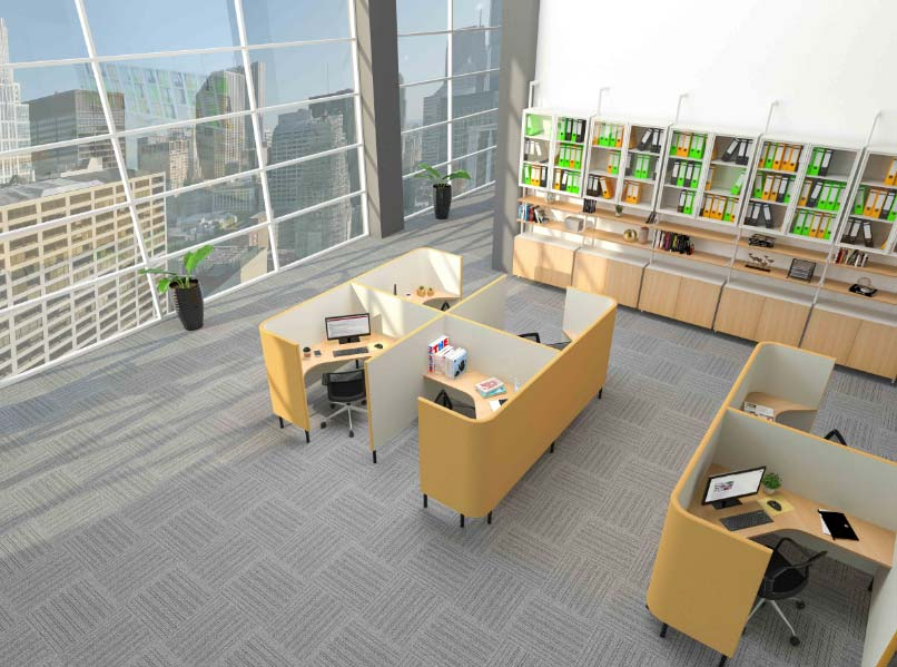 Let's Take a Peek the Trends of Interior Design Office in 2020