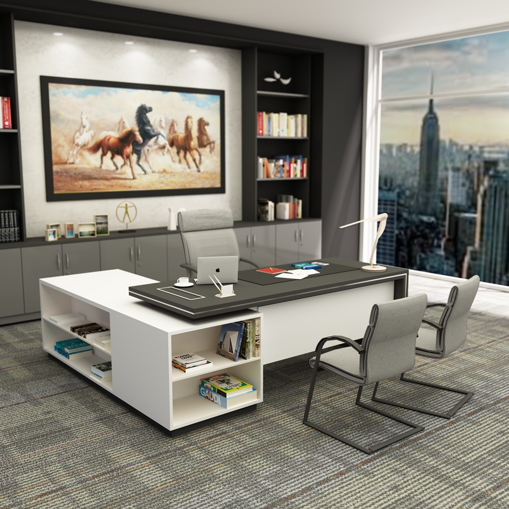 l shape furniture. Director Desk L Shape - Jual System Office Furniture \u0026 Perabot Kantor Modern F