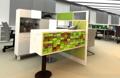 Reception Desk Multifunction