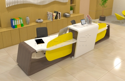 Customize Receptionist Desk